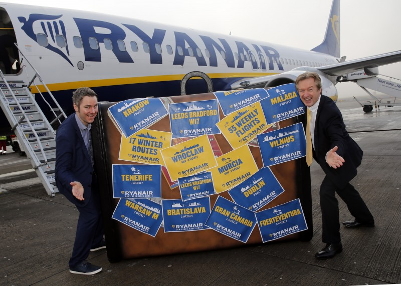 <span style='color:#780948'>ARCHIVED</span> - Ryanair launches Leeds Bradford winter 2017 service to Murcia