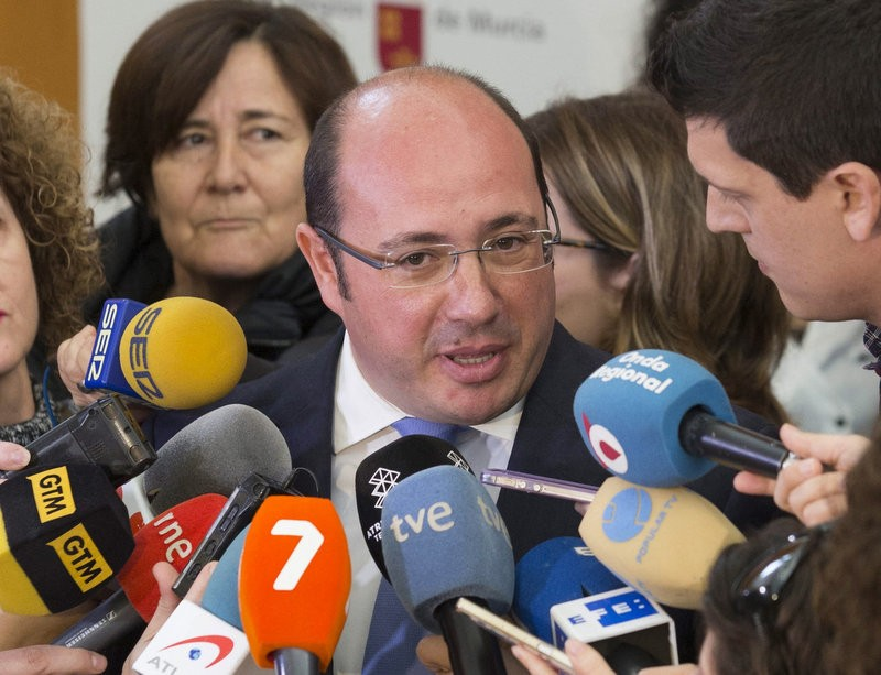 "Murcia president pleads for an end to premature ""lynching"""