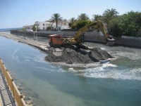 30,000 cubic metres of sand from Marchamalo for the beaches of the Mar Menor
