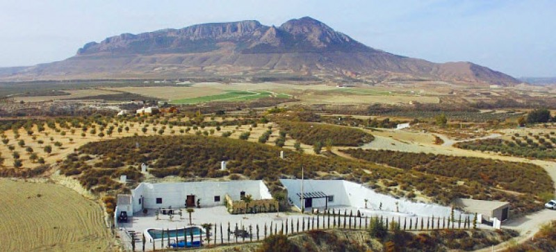 Experience a different side of Andalucia by living in a cave