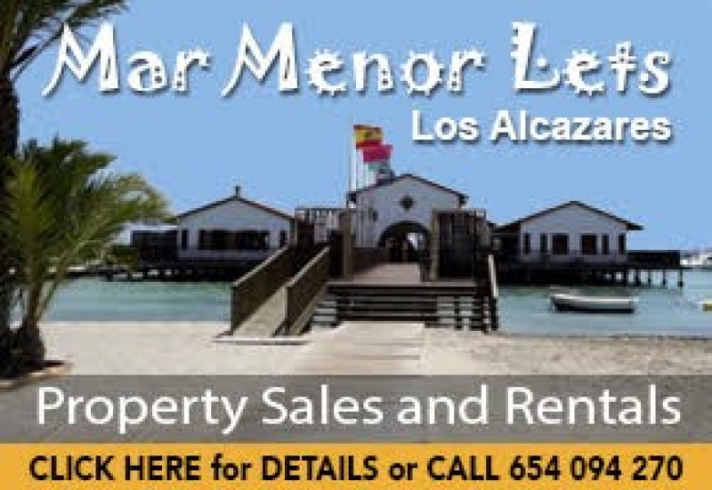 Mar Menor Lets: local agency for Rentals, Sales and Management San Javier