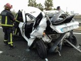 Accident on the A-30 Murcia-Cartagena causes traffic disruption