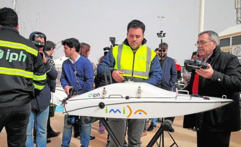 <span style='color:#780948'>ARCHIVED</span> - Drone technology plays part in Mar Menor recovery