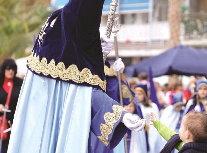 Fiestas in Águilas during March and April