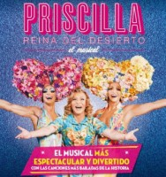 30th, 31st March, 1st and  2nd April  Priscilla Queen of the Desert, the musical, Murcia