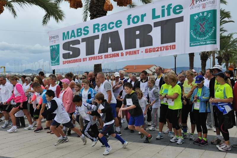 7th May MABS Mar Menor Race for Life