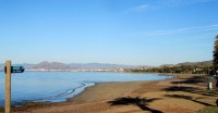 The sun shines on the restored beaches of the Costa Calida