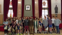 Murcia welcomes 23 exchange students from Dorchester