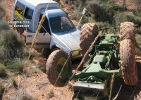 Jumilla tractor joyriders arrested after 14 vehicle thefts