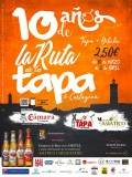 10th March to 2nd April Cartagena Tapas and Asiático route