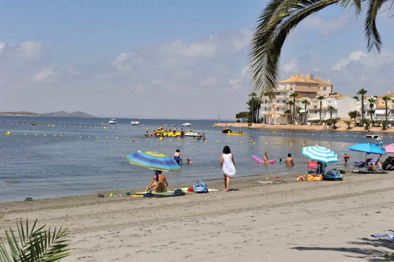 La Manga del Mar Menor beaches: Playa El Pedruchillo