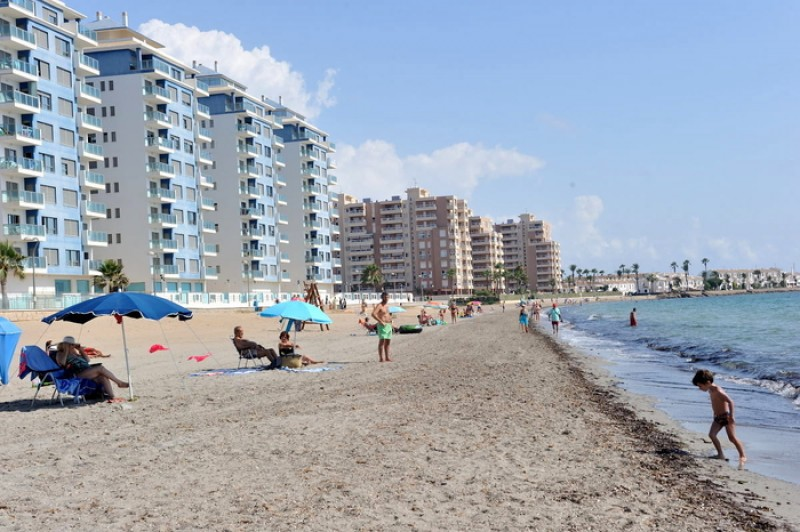 Playa del Pudrimel - La Manga del Mar Menor Beaches