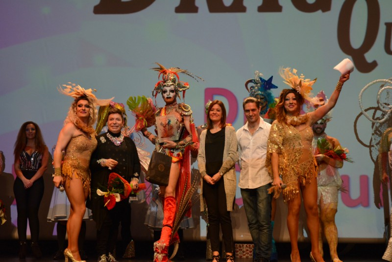 End of Águilas carnival is a bit of a drag!