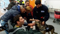Lorca police dogs to provide therapy for the disabled