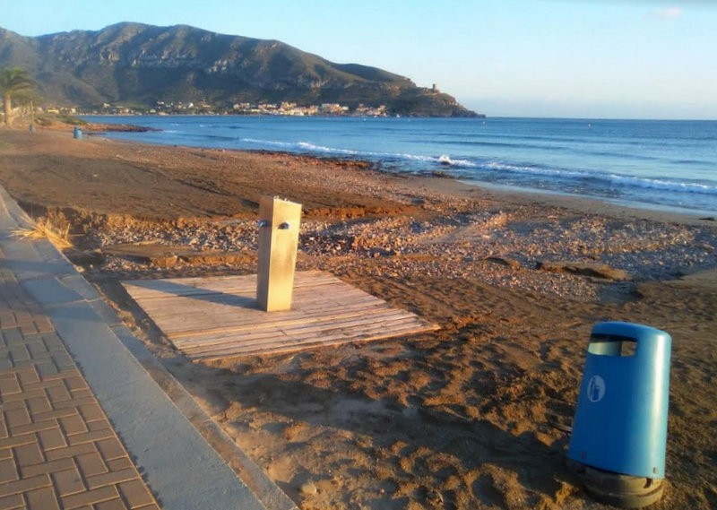 Beach restoration programme continues in Murcia despite latest weather setback
