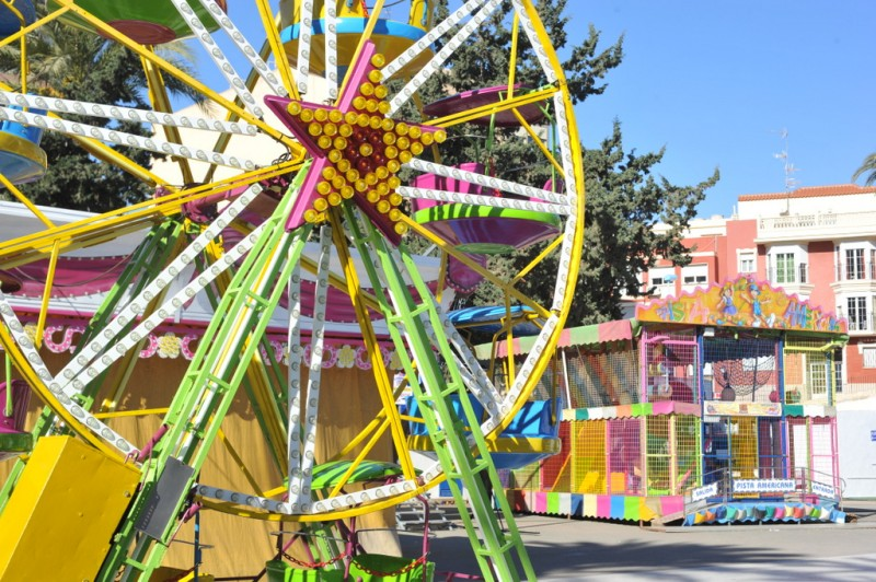Children's funfair and places to visit in Águilas every weekend
