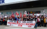Unions call another demonstration to save San Javier airport