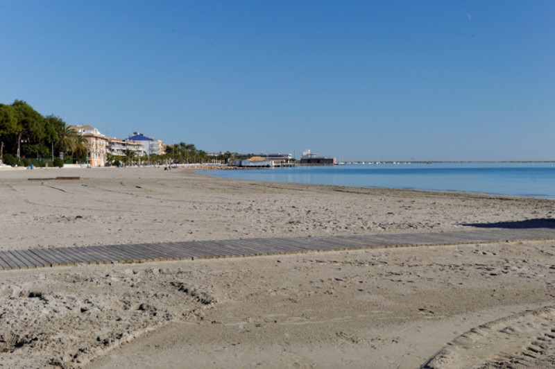 Playa El Castillico - San Javier beaches