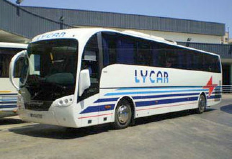 Bus route inaugurated between Lorca hospital and Aguilas