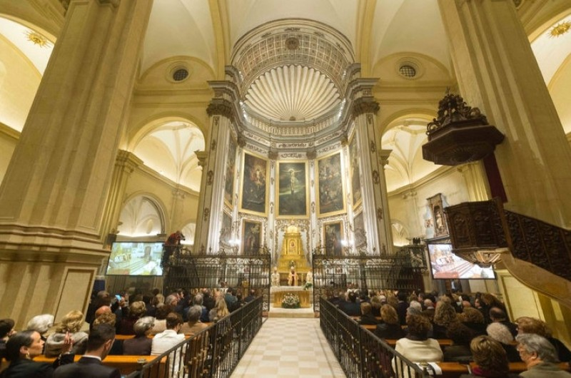 Lorca Excolegiata reopens almost 6 years after the earthquakes