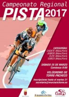 25th March regional track cycling championships Torre Pacheco veladrome