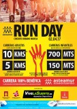 2nd April Urban circuit run day in Murcia for Asteamur
