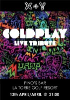 13th April Coldplay tribute by X+Y on La Torre Golf Resort