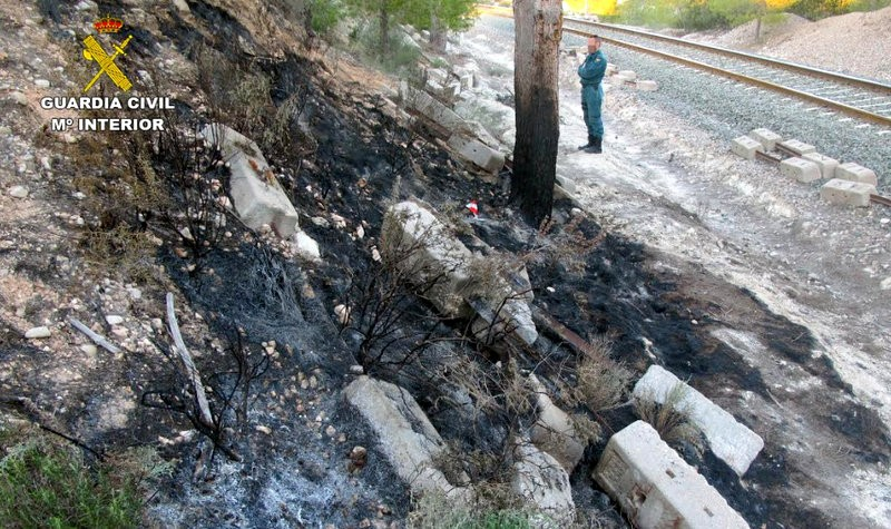 <span style='color:#780948'>ARCHIVED</span> - Caravaca man arrested in connection with Calasparra wild fires