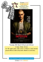 30th March ENGLISH language cinema at the Parque Almenara in Lorca: Imperium