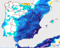 Cold weather and rain to return to Murcia at the end of this week