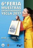 31st March, 1st and 2nd April Yecla Outlet Fair