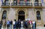 Aguilas Town Hall shows solidarity with London terrorist victims