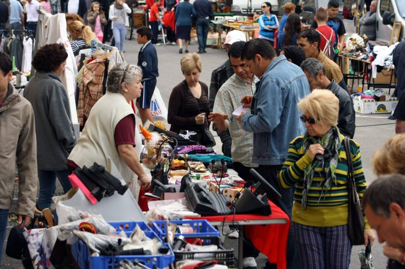 23rd April second hand, antiques and collectables market Cehegín