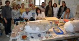 Aguilas Mayoress visits archaeology workshop
