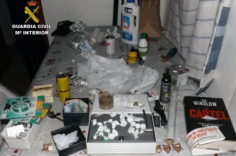 <span style='color:#780948'>ARCHIVED</span> - Drug dealing den revealed by Caravaca house fire