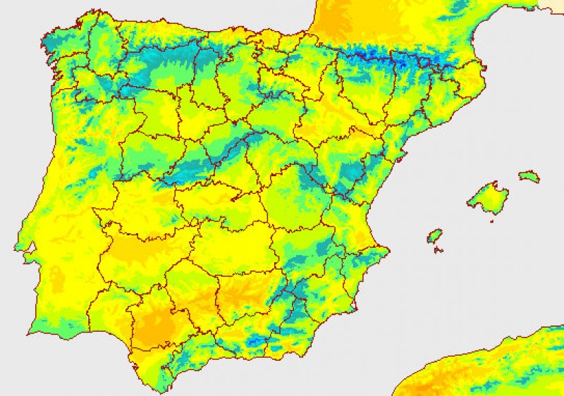 <span style='color:#780948'>ARCHIVED</span> - Forecasters say spring is here to stay this time in Murcia!