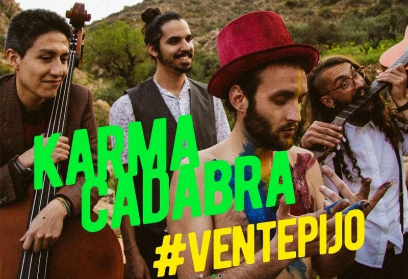 10th June, Ventepijo rock festival in Pozo Estrecho