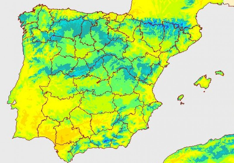 <span style='color:#780948'>ARCHIVED</span> - Archena records the second highest temperature in Spain