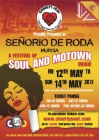 12th to 14th May Charity Soul in Roda supporting prostate cancer research