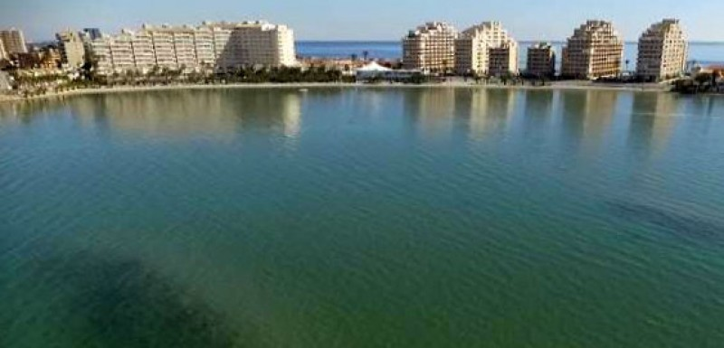 <span style='color:#780948'>ARCHIVED</span> - Drone video shows crystalline water in the Mar Menor