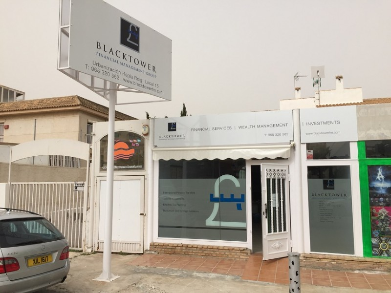 Blacktower Financial Management (Int.) Ltd open new office at Cabo Roig covering Murcia and Alicante areas