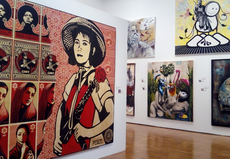 Until 9th July, international urban art and graffiti exhibition at the Mubam in Murcia