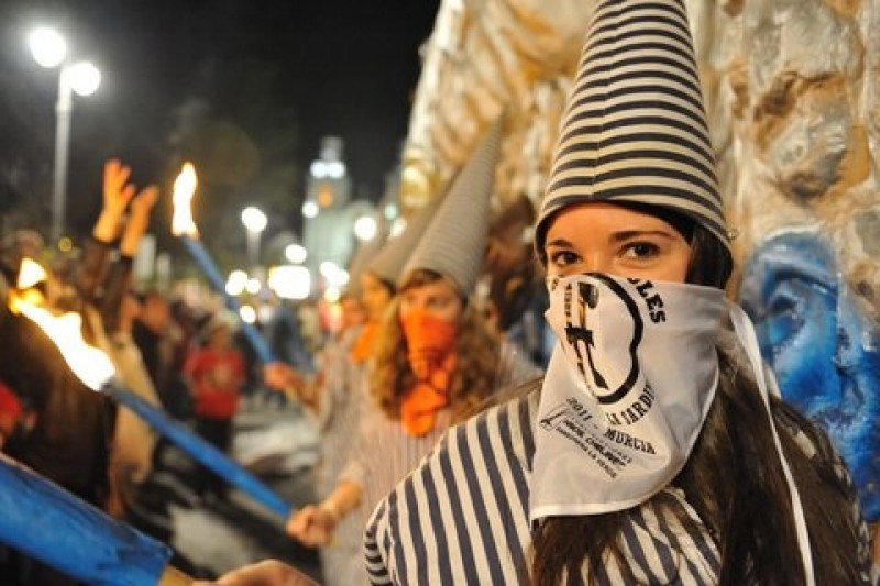 19th to 23rd April, Fiestas de Primavera (part 2) and the Burial of the Sardine in Murcia