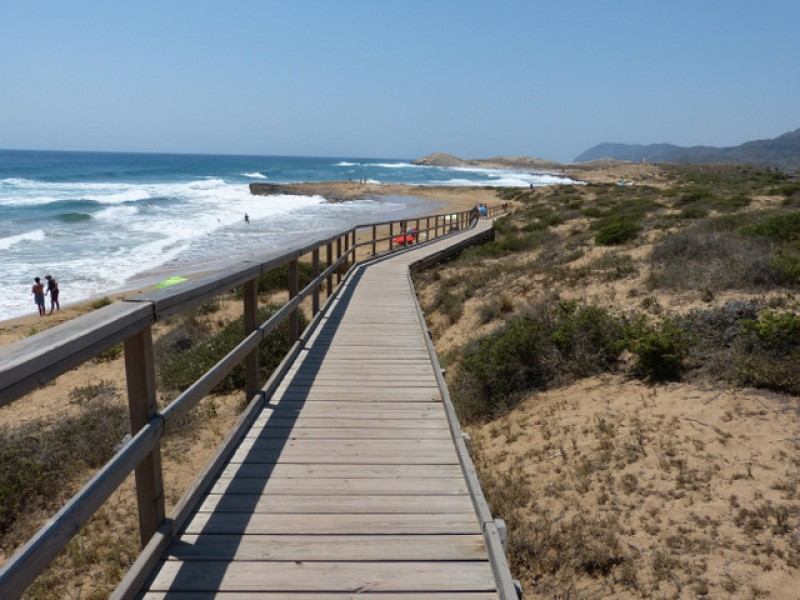 22nd April free guided family walk in the regional park of Calblanque