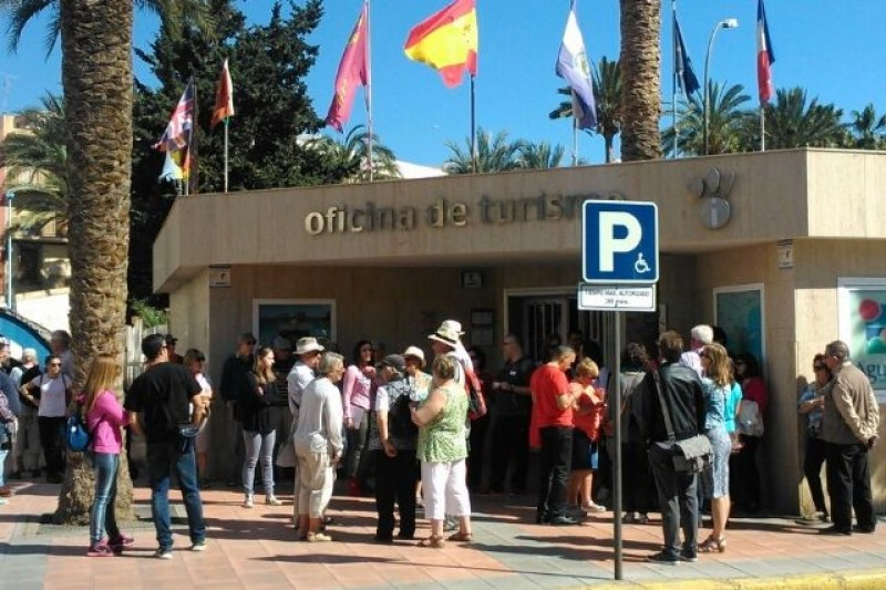 Full occupancy in Águilas over Easter weekend