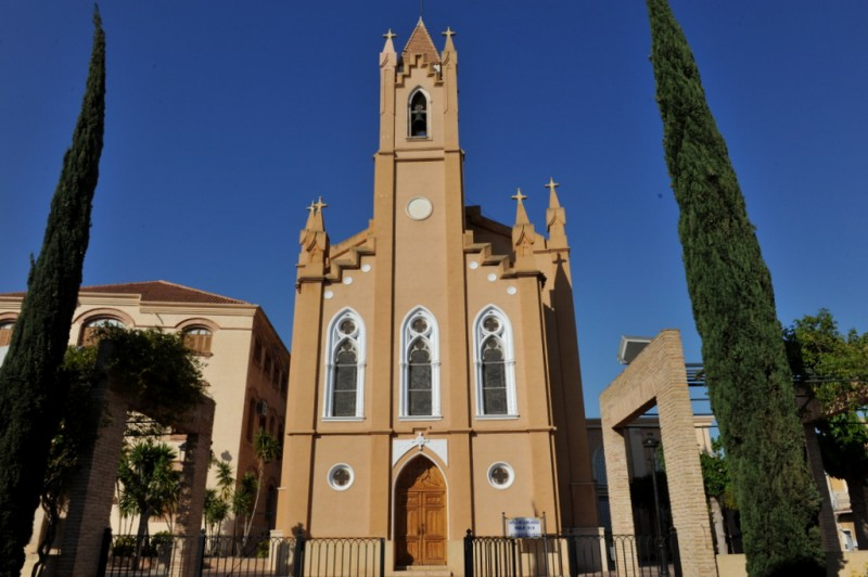 The Chapel of La Milagrosa or Iglesia Concepción in Totana
