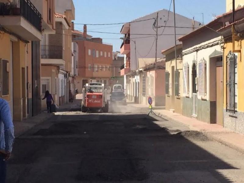 Totana street make-over