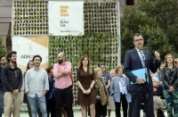 Murcia Town Hall installs vertical garden for Urban DNA project
