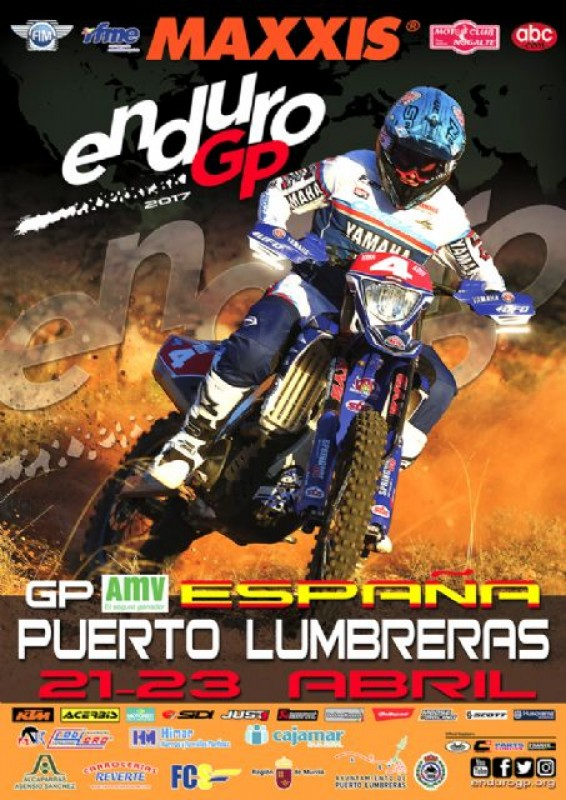 Riders from 52 countries in Puerto Lumbreras motorcycle enduro test this weekend