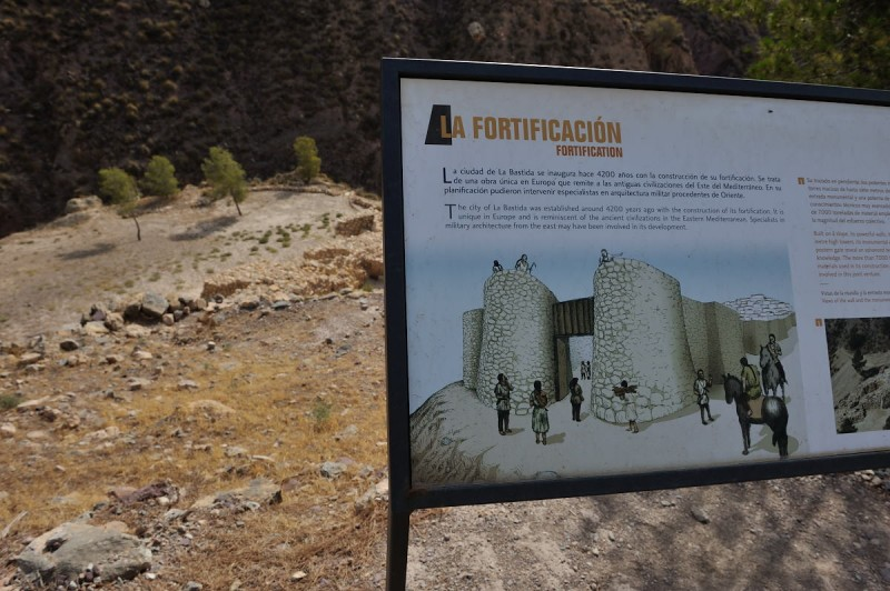 22nd and 23rd April guided tour of Argaric site La Bastida in Totana